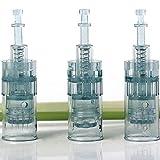 Dr.Pen Ultima M8 Round Nano Cartridges - Original Dr Pen Replacement Parts (Round Nano, 20 pcs)