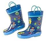 Stephen Joseph Kids Rain Boots, ROBOT, 13