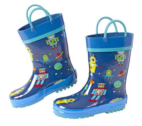Stephen Joseph Kids Rain Boots, ROBOT, 7