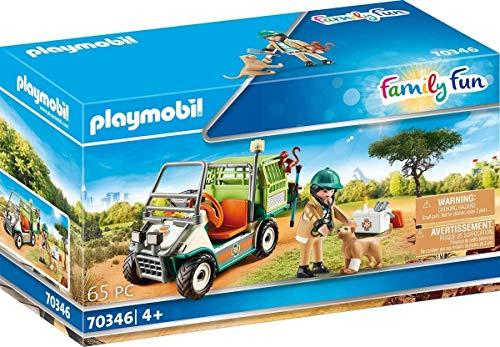 PLAYMOBIL 70346 Zoo-Tierarzt mit Fahrzeug, ab 4 Jahren