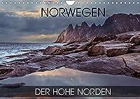 Norwegen - der hohe Norden (Wandkalender 2022 DIN A4 quer): Fotoreise durch den norwegischen hohen Norden (Monatskalender, 14 Seiten )