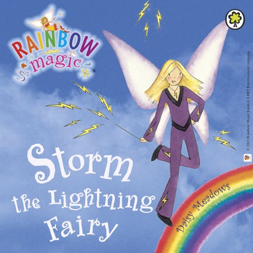 Rainbow Magic - The Weather Fairies: Storm the Lightning Fairy audiobook cover art