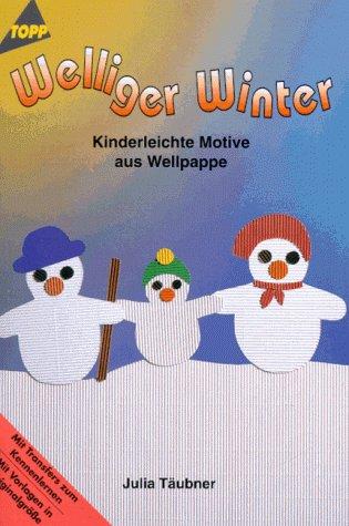 Welliger Winter. Kinderleichte Motive aus Wellpappe