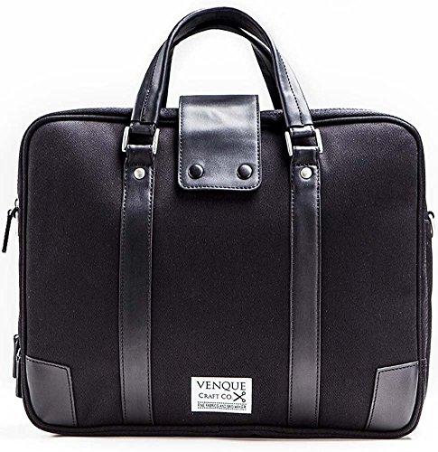 Venque Hamptons Laptoptas 15,6 inch Black Edition