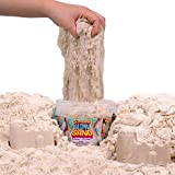 SLIMYSAND by Horizon Group USA, 1.5 Lbs of Stretchable, Expandable, Moldable, Non Stick, Slimy Play in A Reusable Bucket, Sand- A Kinetic Sensory Activity