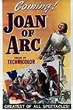 Poster, Motiv Ingrid Bergman in Joan of Arc Portrait in