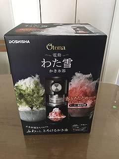 ドウシシャ 電動わた雪かき氷器DOSHISHA DSHH-18