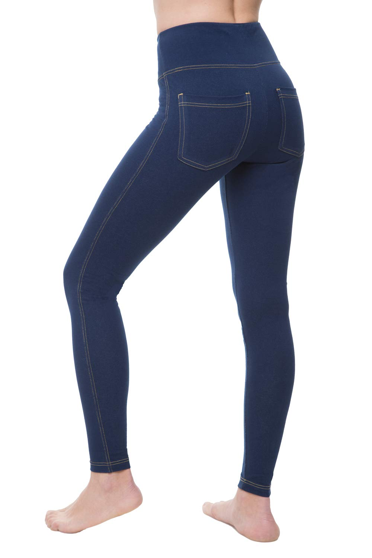 NIRLON Jeggings Control Leggings Pockets