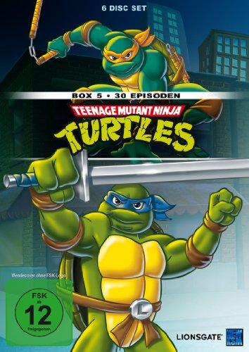 Teenage Mutant Ninja Turtles - Box 5 (30 Episoden) [6 DVDs]