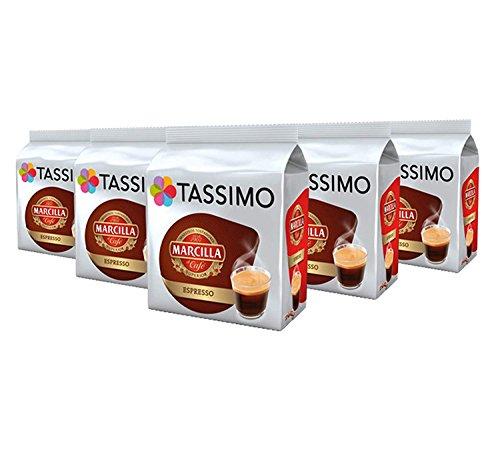 Tassimo Marcilla Espresso 5x16 cápsulas - 80 Bebidas
