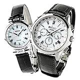 [セイコー]SEIKO 腕時計 ドルチェ エクセリーヌ DOLCE&EXCELINE 電波ソーラー ホワイト ペアボックス付き ラッピング付き SADA039 SWCW109 ペアウォッチ メンズ レディース