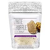 Artisan Salt Company Fusion Naturally Flavored White Truffle Sea Salt, Zip-Top Pouch, 4 Ounce