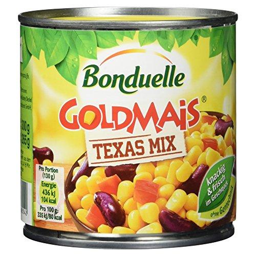 Bonduelle Goldmais Texas Mix , 6er Pack (6 x 425 ml Dose)