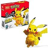 Mega Construx- Pokemon Pikachu, Personaggio da Assemblare,...
