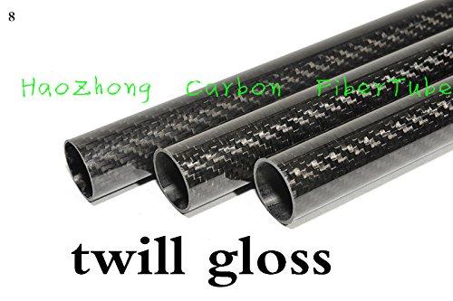 Great Deal! Part & Accessories 1-4pcs 44MM OD x 42MM ID x 500MM100% Roll 3k Glossy Carbon Fiber tube...