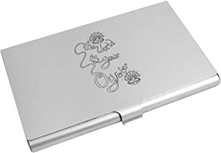 Azeeda 'The World is Your Oyster' Business Card Holder / Credit Card Wallet (CH00005541)