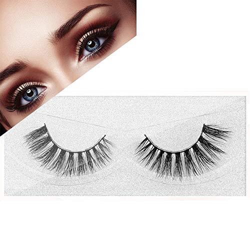 Cils naturels Faux Cils Vison Cils à la Main 3D Faux Cils Maquillage Cils Extension Longue épaisseur Dramatique