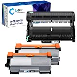LxTek Compatible Toner Cartridge & Drum Unit Replacements for Brother TN450 TN-450 DR420 DR-420 to use with FAX-2940 FAX-2840 MFC-7240 HL-2270DW Printer (2 Toner Cartridges, 1 Drum Unit, 3 Pack)
