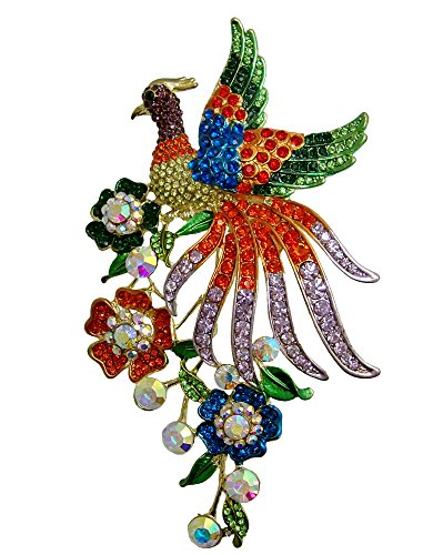 TTjewelry Fashion Colorful Peacock …