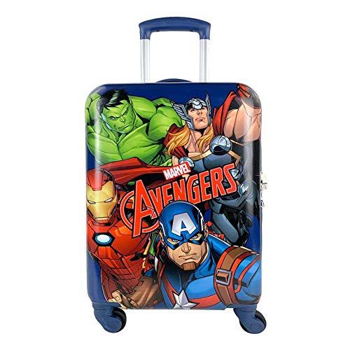 Maleta Trolley Infantil Marvel Avengers Equipaje de Mano Spinner 4019