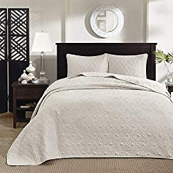 Madison Park Quebec Oversize King Size Quilt Bedding Set