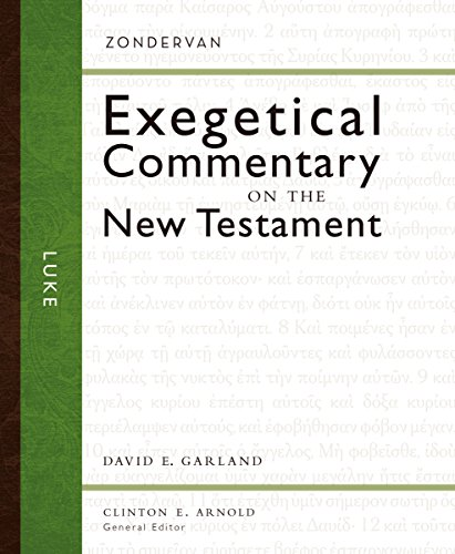 Image of Luke (3) (Zondervan Exegetical Commentary on the New Testament)