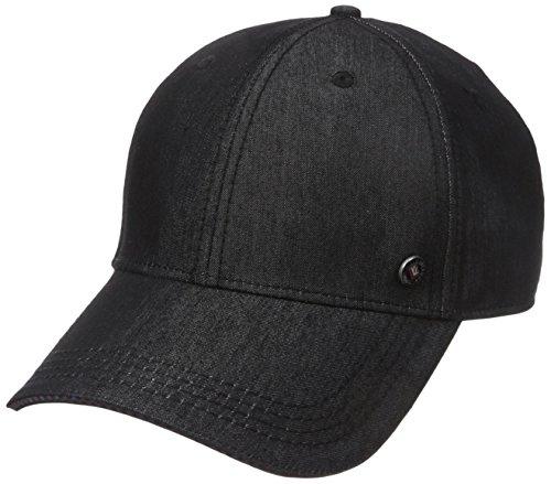Ben Sherman Men's Chambray Baseball Hat, Black, One Size