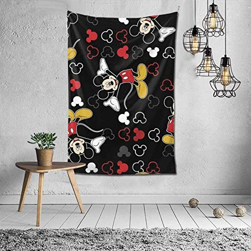 Mouse Tapestry Wall Hanging Decoration Wall Hanging in Bedroom Dormitory Stylish Color