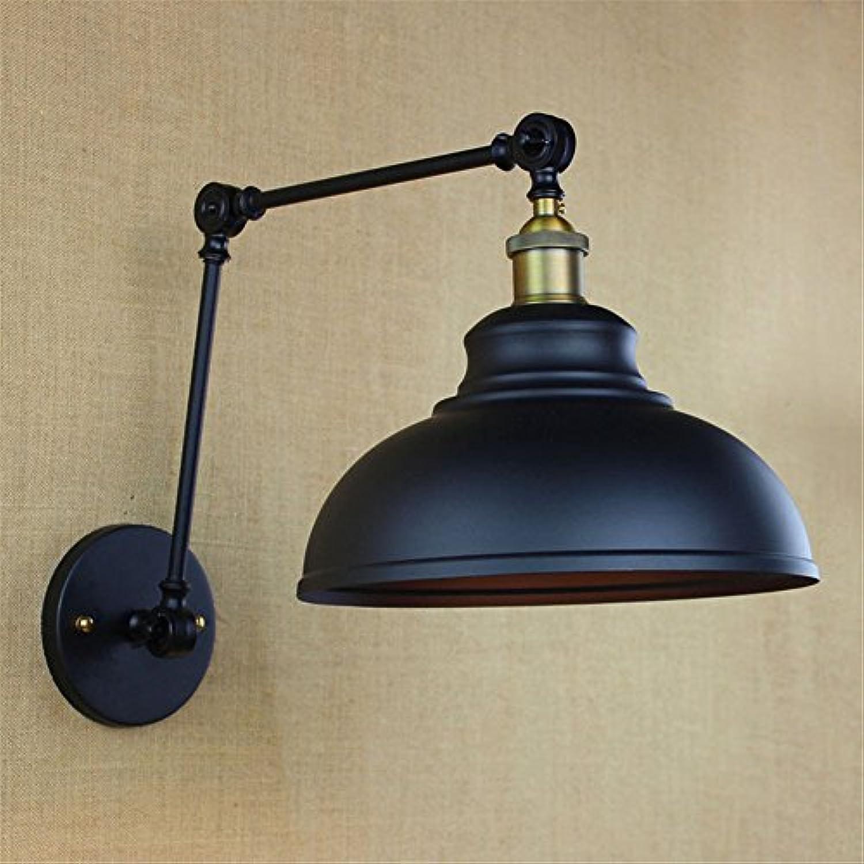 StiefelU LED Wandleuchte nach oben und unten Wandleuchten Atmosphre der gehobenen Schwarz living room Bar Restaurant Hallenbad groe Dekorative Wandleuchte