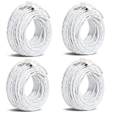 Funlux/Zmodo 3rd Gen Pack of 4 82ft sPoE NVR MicroUSB Camera Cable W-USB025-M