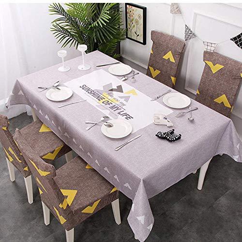 GHGD Mantel Impermeable De 120X160 Cm, Cubierta Elástica para Decoración De Comedor, MantelImpreso