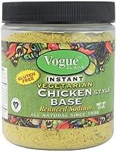 Vogue Cuisine Vegetarian Chicken Soup & Seasoning Base 12oz - Low Sodium, Gluten Free, All Natural Ingredients