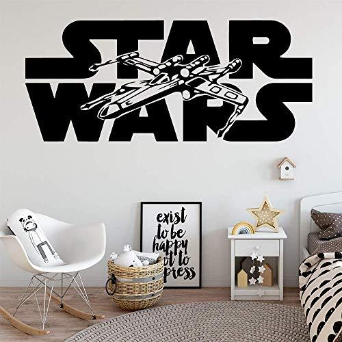 Star Wars Wall Art Decal Décoration Autocollant De Mode Décoration Vinyle Chambre Décoration 30X70 Cm