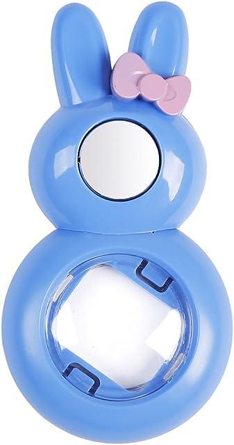 Anter Close Up Lente con Instax Lente Selfie para Fujifilm Instax Mini 9 Mini 8 Mini 8+ Mini 7s Cámara de película instantánea (Rabbit Cobalt Blue)