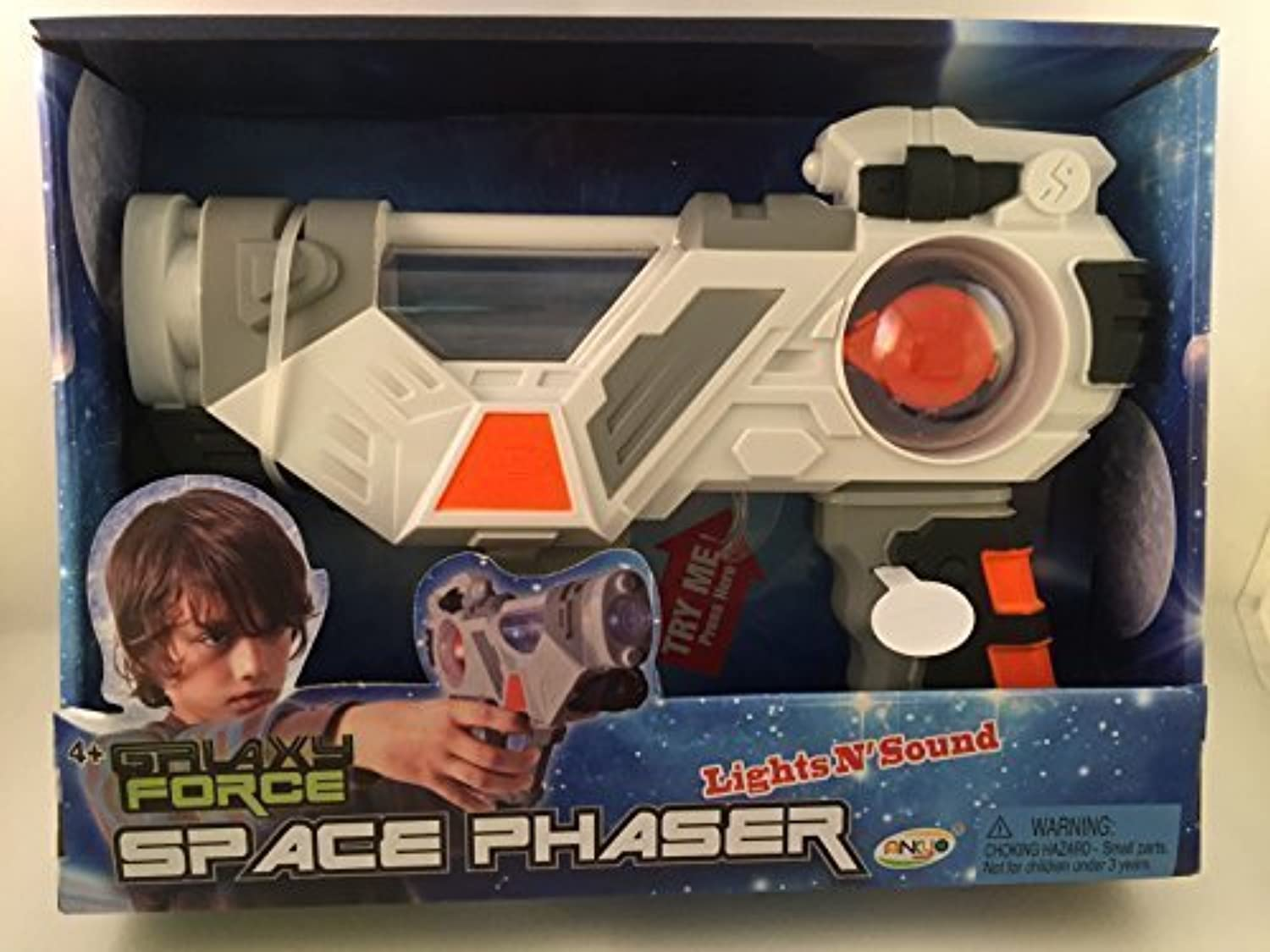Galaxy Force Lights N' Sound Space Phaser by Ankyo