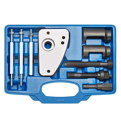 KRAFTPLUS K.286-7620 HDI Injektor Auszieher Einspritzdüsen Abzieher Satz für Bosch Siemens Kompatibel mit Citroën Peugeot Ford