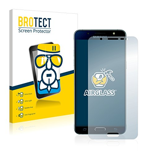 BROTECT Panzerglas Schutzfolie kompatibel mit Samsung Galaxy J5 2016 / Duos 2016 - AirGlass, 9H Festigkeit, Anti-Fingerprint, HD-Clear