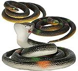 Guirca- Serpente di Gomma 70 cm (Modello Casuale), Colore, 17532