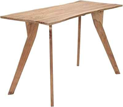 """Dining Table, Kitchen Table Dining Room Table Dining Table 47.2""""x22.8""""x29.9"""" Solid Acacia Wood"""