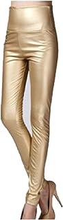DressU Women's High Waisted Velvet Silm Fit Pencil Pants