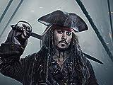 QIANQ Póster Piratas del Caribe: Grupo 6 Puzzle 1000 Piezas para Adultos, DIY Arte Rompecabezas, Puzzles Souvenir Regalo Obra de Arte de Juego de Adulto Rompecabezas