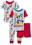 Disney Boys' Mickey Mouse Snug Fit Cotton...