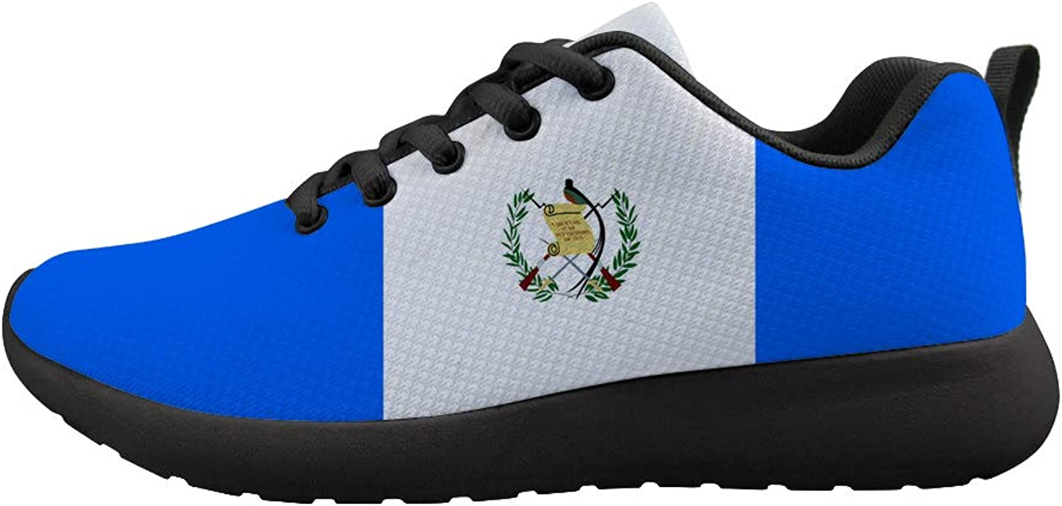 Owaheson Cushioning Sneaker Trail Running shoes Mens Womens Guatemala Flag