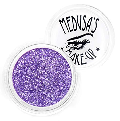 Medusa's Make-Up Glitzer-Lidschatten Glitter, loser Glitzer für Nägel, Haare und Gesicht (Pluto)