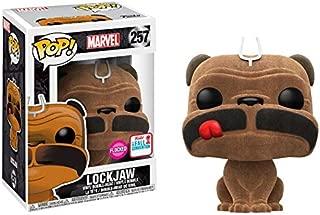 Funko Pop! Marvel #257 Inhumans Flocked Lockjaw (2017 Fall Convention Exclusive)