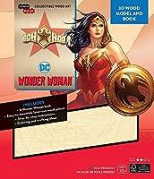 IncrediBuilds: DC Comics: Wonder Woman 3D Wood Model and Book