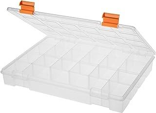 حافظة بلاستيك شفافة 27.5 سم