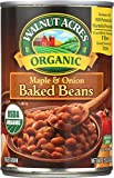 Walnut Acres Organic Baked Beans, Maple & Onion, 15 Oz (Pack of 12)