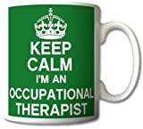 Keep Calm I'm An Occupational Therapist Mug Cup Gift Retro by GrassVillageTM