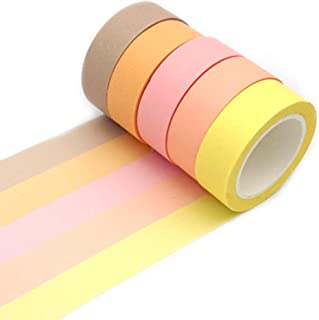 diy washi tape notebook